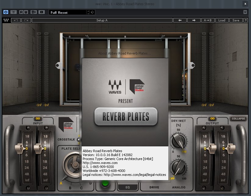 Waves Mercury Complete VST DX RTAS v1 01