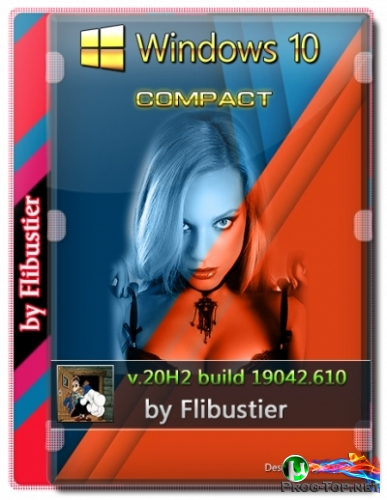 Windows 10 20H2 Compact [19042.610] (x64) by Flibustier