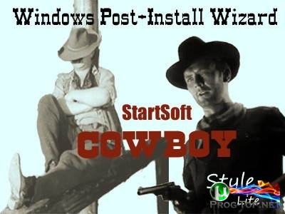 Программы с автоустановкой - Windows Post-Install Wizard by StartSoft Cowboy Style Lite 07-2020
