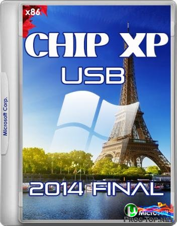 Chip Windows XP установка с USB 2014 Final 32bit