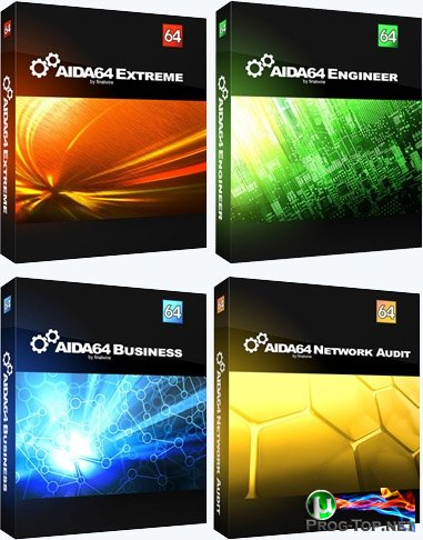 Информация о ПК - AIDA64 Extreme / Engineer / Business / Network Audit 6.32.5600 Final Repack (& Portable) by Litoy