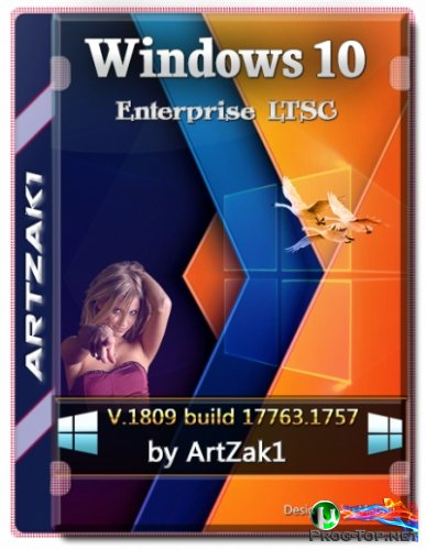 Windows 10 без магазина Enterprise Ltsc 17763.1757 by ArtZak1 (13.02.2021) (x64)