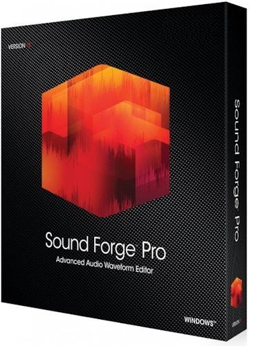 MAGIX Sound Forge Pro 15.0 Build 57 RePack by KpoJIuK